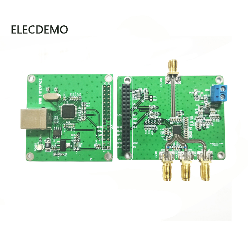 Image 4 - ADF4355 Module Phase Locked Loop Module PLL RF Signal Source Official Network Machine 54M 6.8G Function demo Board-in Demo Board Accessories from Computer & Office