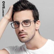 Brillen rahmen für männer Computer Optische Transparent objektiv frauen myopie brille Spektakel Für Männlichen rezept Brillen Rahmen