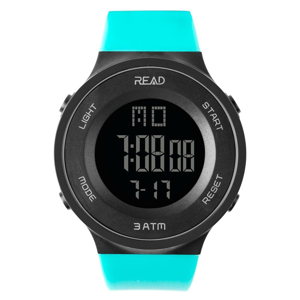 Tezer 90003 Inteligente À Prova D' Água Esportes Relógios Das Mulheres Dos Homens Marca de Moda de Luxo LED Relógio Digital Eletrônico Passometer смарт часы