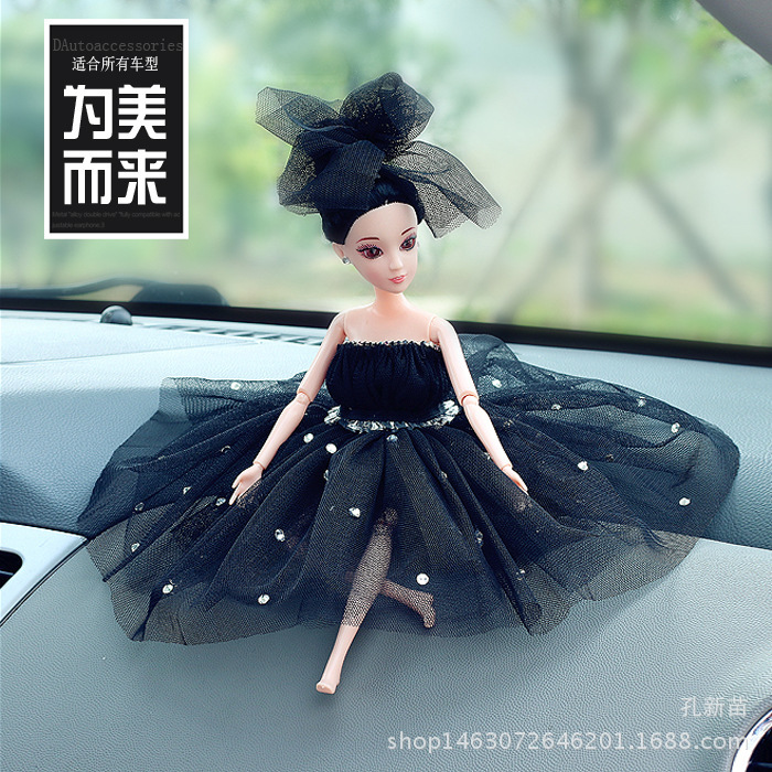 2018 Time-limited Hot Sale Car Decorative Furnishing Articles Ms Veil Princess Baby Fashion Motor Vehicle Gifts