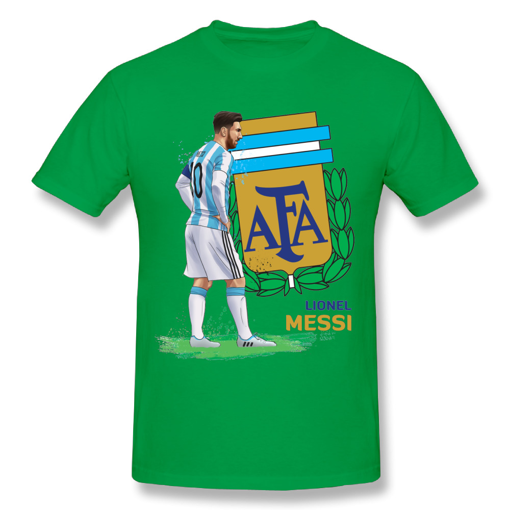 lowest price 94f5e 4d777 Argentina World Cup Lionel Messi T Shirt Summer Fashionable Boy Custom  Graphic T Shirts Wholesale-in T-Shirts from Men's Clothing & Accessories on  ...