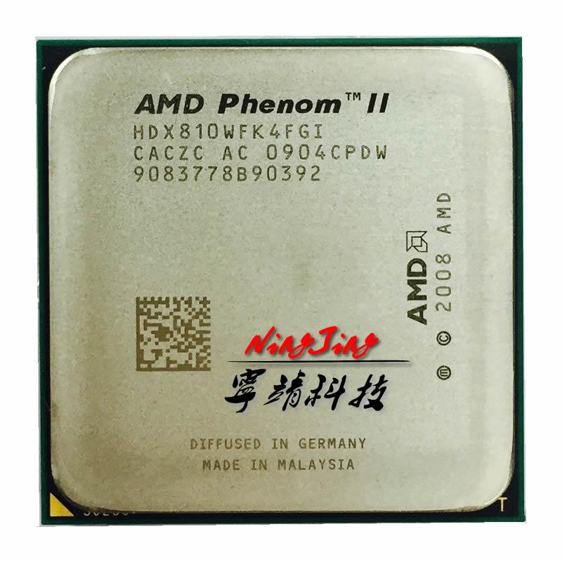 AMD Phenom II X4 810 2.6 GHz Dört Çekirdekli İşlemci HDX810WFK4FGI Soket AM3