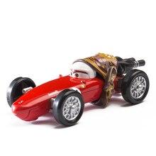 Disney Pixar Cars 2 3 Mother Lightning McQueen Mater Jackson Storm Ramirez 1:55 литая металлическая модель из сплава игрушка автомобиль подарок для ребенка