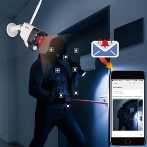 Image 5 - Tonton 1080P 무선 보안 카메라 2 테라바이트 HDD 2MP 4CH NVR 카메라 IR CUT 야외 CCTV 카메라 IP 보안 비디오 감시 키트