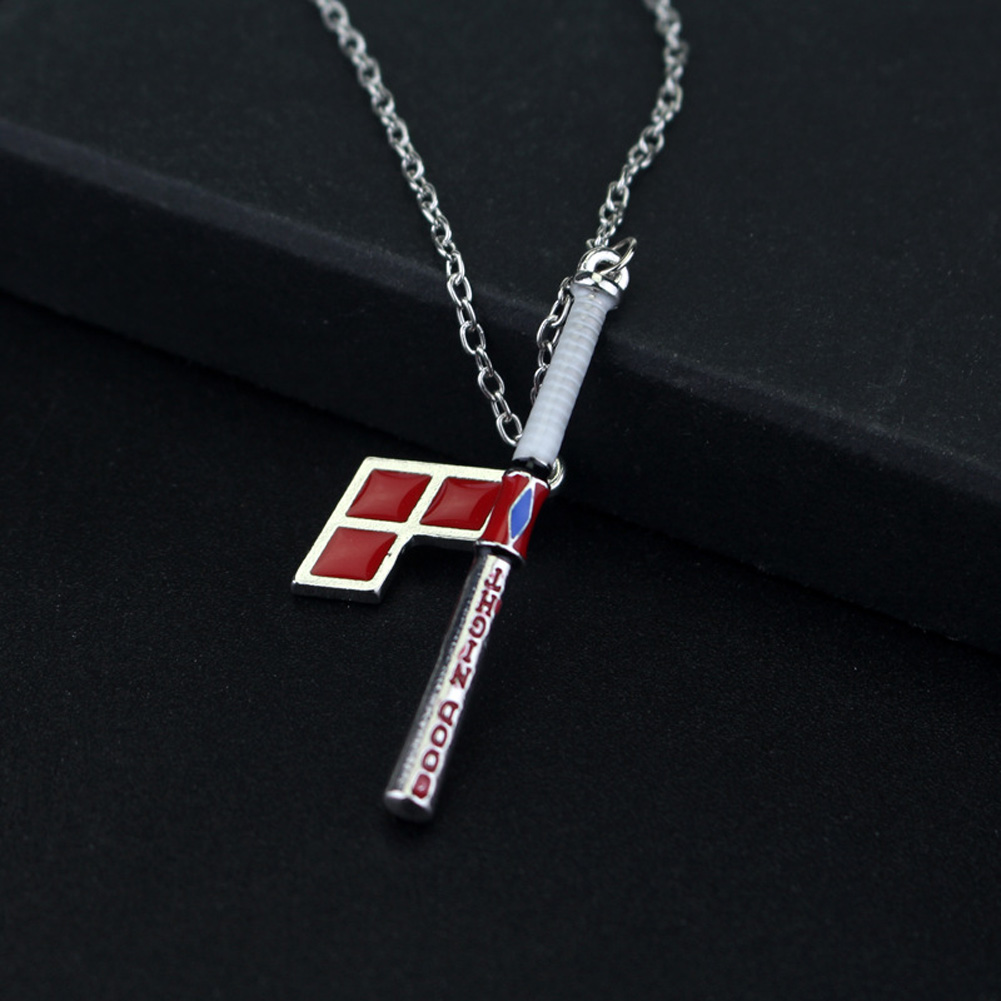 Suicide Squad Harley Quinn Baseball Bat Pendant Necklace