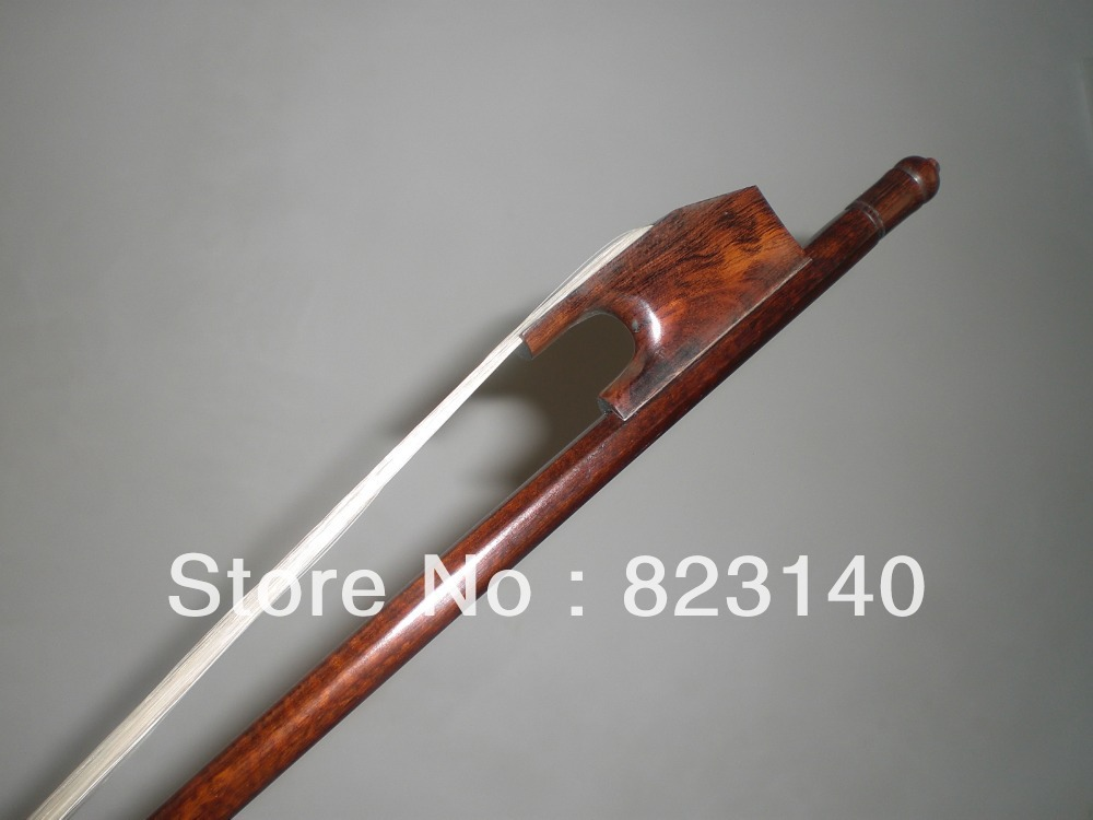 1 PCs Nice Snakewood Baroque CELLO bow 4/4 with Mongolia White bow hair 2 pcs baroque double bass bow 3 4 snake