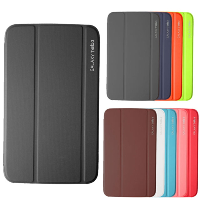 Ultra-thin Magnetic Stand Smart PU Leather Cover for Samsung Galaxy Tab 3 10.1 P5200 P5210 Tablet Funda Case+Free Film+Pen ultra thin smart pu leather cover case stand cover case for 2015 lenovo yoga tab 3 8 850f tablet free film free stylus