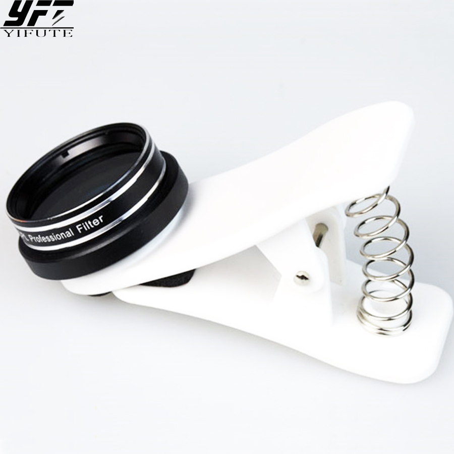 CPL Polarizing Filter Lens Professional Optical Filter Lenses Phone Camera Kit Lente For iphone Samsung S6 S7 Edge Huawei LG CPL
