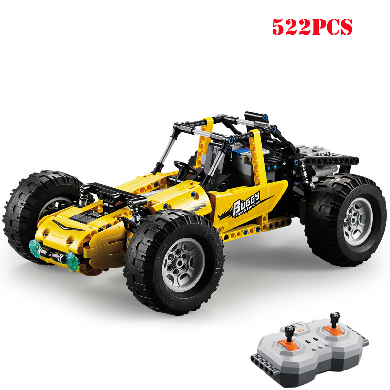 Technic RC Racing Car Buggy Off-road Climbing Remote Control Vehicle Truck Building Blocks Compatible Legoing Bricks Child ToysTechnic RC Racing Car Buggy Off-road Climbing Remote Control Vehicle Truck Building Blocks Compatible Legoing Bricks Child Toys