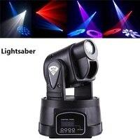 15W LED Qspot Moving Head Spot RGB Stage Mini Lighting For Club DJ Party 2pcs Moving