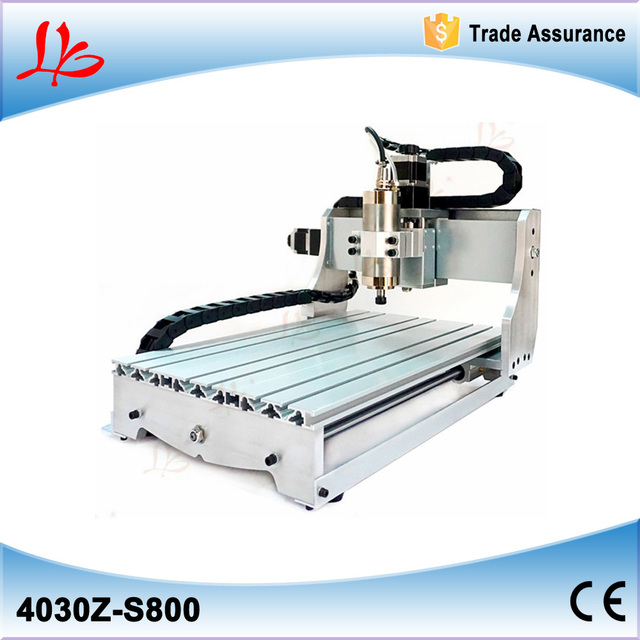 Mini CNC Woodworking Machine CNC 3040 0.8KW Spindle for Metal Milling Cutting