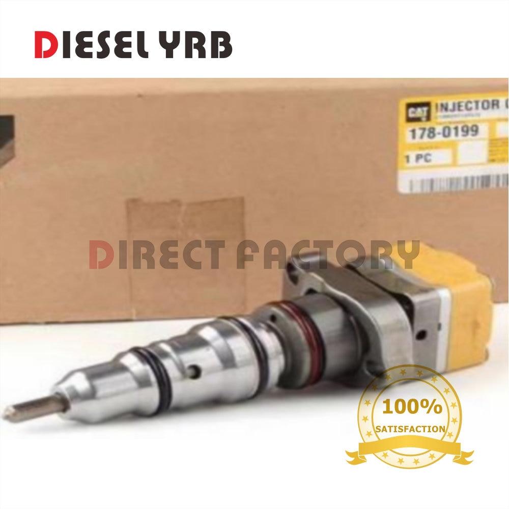 6 Stks Originele Nieuwe Diesel Injector 178-0199, 20r2048 Voor E322c, E325c 3126b Motor