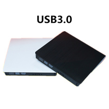 External USB 3.0 High Speed DL DVD RW Burner CD Writer Slim