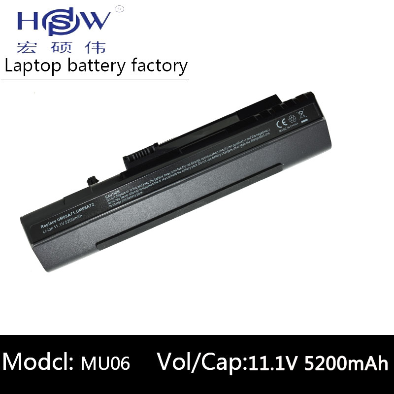 HSW BLACK 5200mAh battery For Acer Aspire One A110 A150 D210 D150 D250 UM08A31 UM08A32 UM08A51 UM08A52 UM08A71 UM08A72 UM08A73 spanish sp keyboard for acer aspire one zg5 d150 d210 d250 a110 a150 a150l za8 zg8 kav60 emachines em250 or latin la layout
