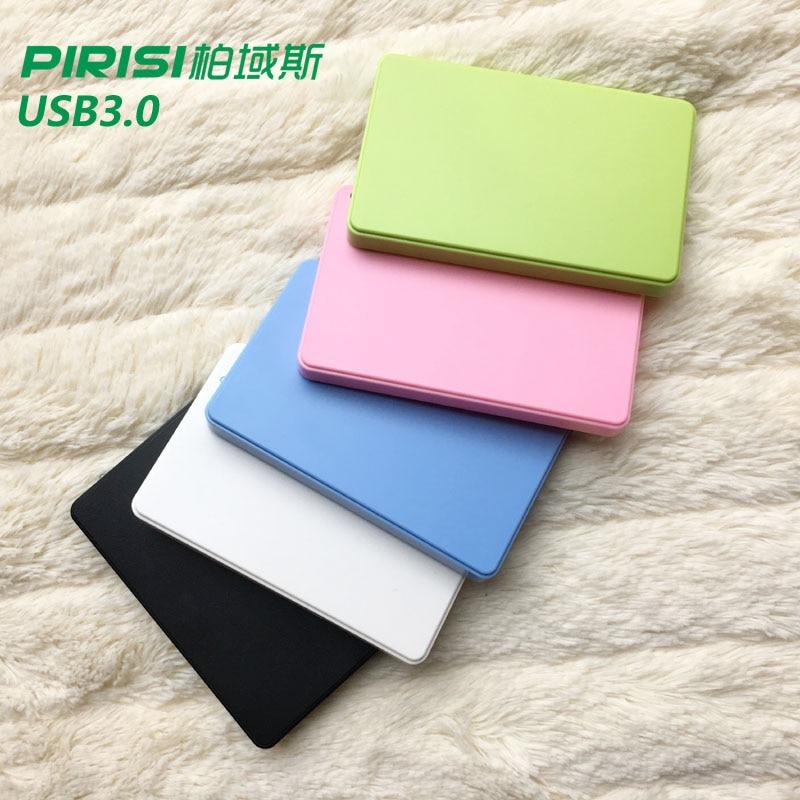 Новый стиль 2.5 ''pirisi HDD тонкий красочный внешний жёсткий диск 120 ГБ/160 ГБ/320 ГБ/500 ГБ USB3.0 хранения диска опт и розница