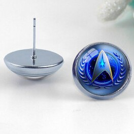 Star Trek Stud Earrings