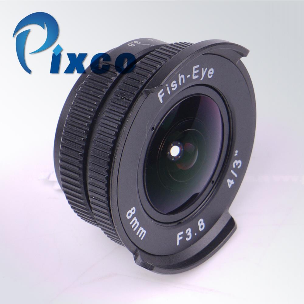 8mm F3.8  f/3.8 Fish-eye C CTV Lens Suit For C Mount Camera Lens cap E-P2 E-P1  E-M10 II E-M5 II NEX-3N NEX-6 NEX-5R NX1100 NX5