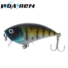 1Pcs Crankbait Minnow Trolling Lure Fishing Tackle Wobbler Swimbait Fishing 5.5cm 6.6g Fishing Lure Artificial Hard Bait FA-277