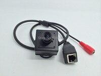 Super Mini HD Box P2P Network Camera With Dual Stream Cloud Server Fish Eyes Lenz ONVIF