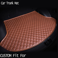 car ACCESSORIES Custom fit car trunk mat for honda Accord Civic CRV City HRV Vezel Crosstour heavy duty tray carpet cargo liner