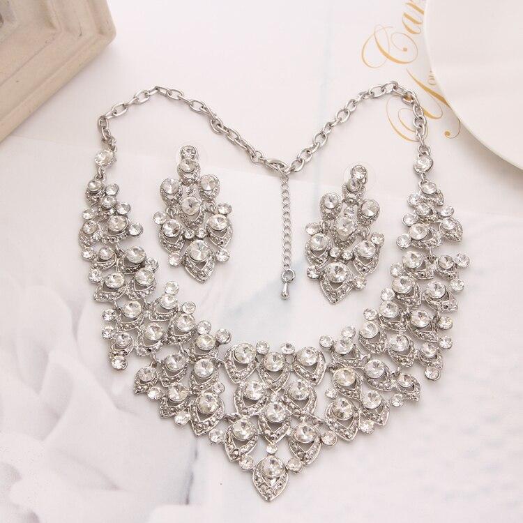 New Water Drop Earrings Necklace Jewelrys