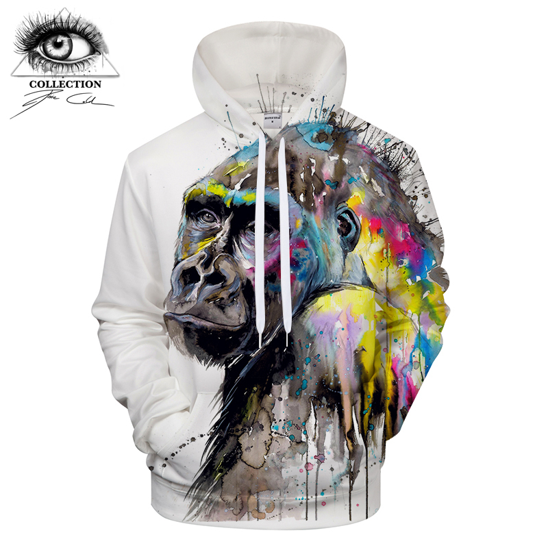 I see the future by Pixie cold Art Animal 3D Hoodies Men Women Sweatshirts Jackets Hooded Pullover Casual Tracksuits ZOOTOP BEAR