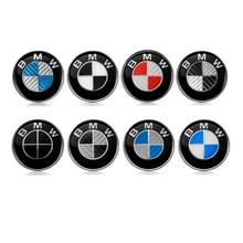 BMW 45mm Car Steering Wheel Badge Emblem Logo Sticker BMW E46 E30 E39 E34 E90 E60 E87 M3 F10 F20 F30 Car Accessories Styling