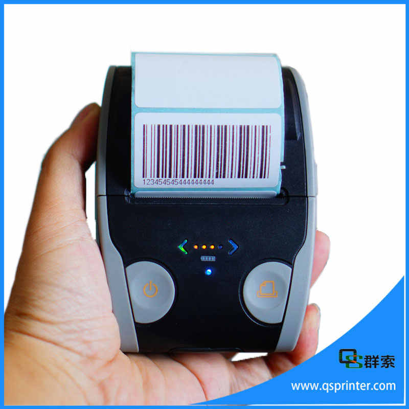 Portable 58 Mm Thermal Bluetooth Printer Label Barcode Printer