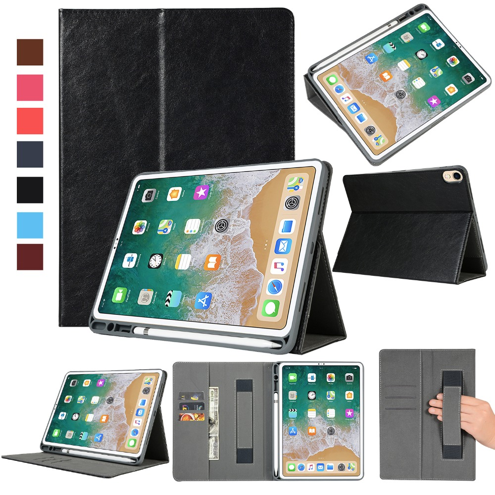 Case With Pencil Holder For Apple Ipad Pro 11