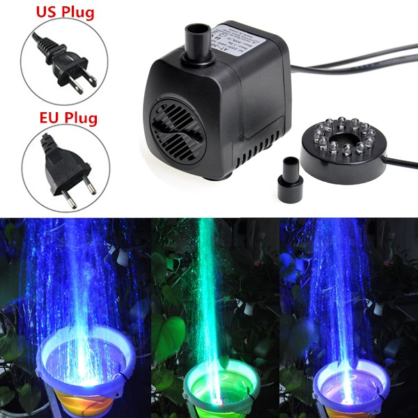 все цены на 15W 210-GPH US110V/EU220V Submersible Pump LED Mini Water Pump For Aquarium Fish Tank Pond Fountain
