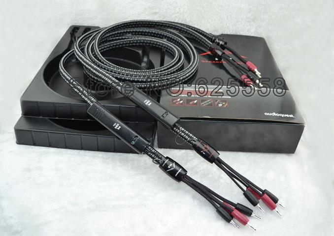 Пара динамиков кабель бесплатное обновление Новый 72 в DBS 2 до 4 посеребренный Банановый штекер оригинальный bo удлинитель