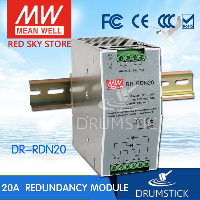 (Only 11.11)Genuine MEAN WELL DR-RDN20 (2Pcs) 30V 20A meanwell DR-RDN20 30V 20A Power Supply Redundancy Module(Only 11.11)Genuine MEAN WELL DR-RDN20 (2Pcs) 30V 20A meanwell DR-RDN20 30V 20A Power Supply Redundancy Module