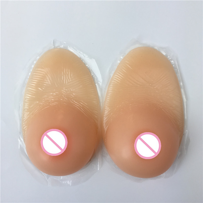 600g B cup real sagging boob adhesive artificial breasts silicone breast form for man cosplay drag queen
