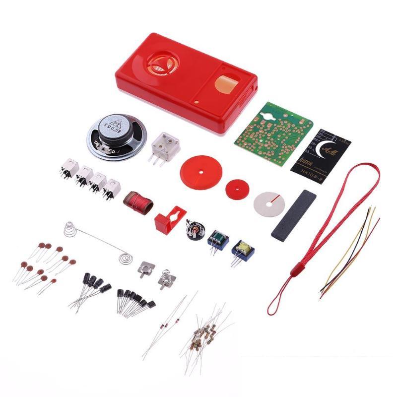 1 Set Kit FAI DA TE 7 Tubo Radio AM 525-1605 kHz 100 MW Kit FAI DA TE Elettronico Learning Set