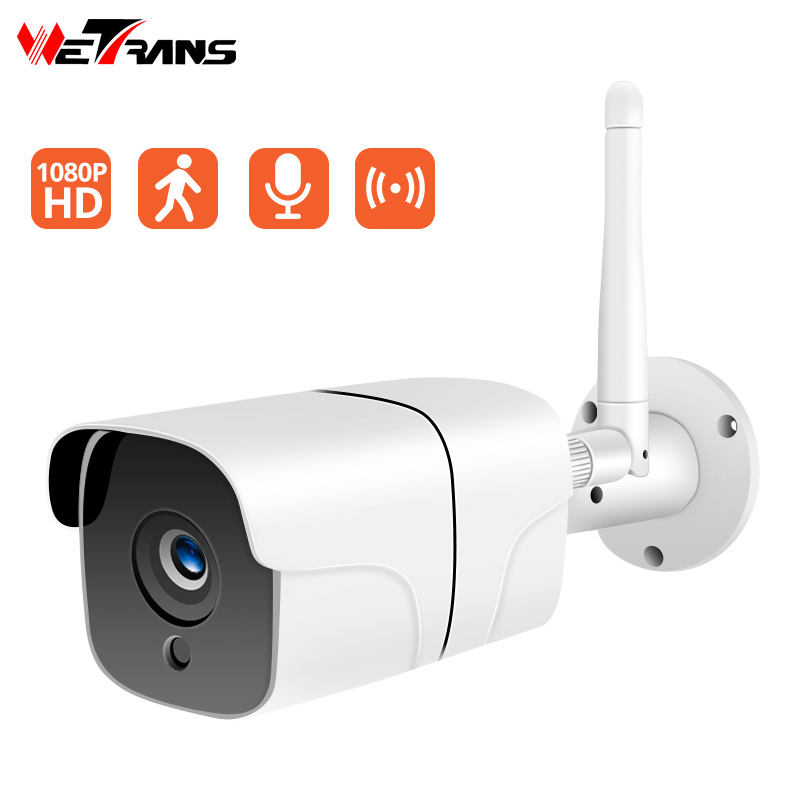Wetrans CCTV Kamera Wifi Outdoor Home Security Drahtlose Kamera H.264 Audio Hotspot IP Kamera 1080P Wifi Cam Video Überwachung