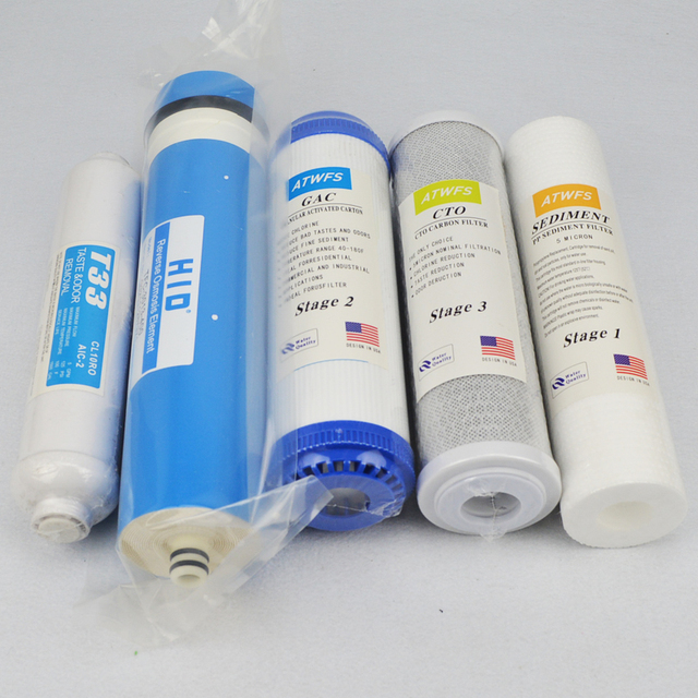 New Arrival 5 Stage Filter Cartridge 400 GPD RO Membrane Water Filter Survival Purifier Osmose Waterfilter RO System 3