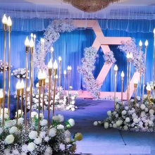 10 шт. или 10 головок стоящая лампа для Свадебные фоновые декорации, Свадебный магазин