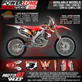 Customized  Graphics Backgrounds Repsol Custom Decals Stickers Fit CRF250 CRF450 R X CR125 250  Motorcycle Dirt Bike Racing Kit