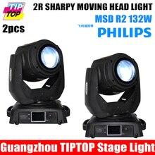 TIPTOP 2 XLOT 132 W 2R Viga Principal Móvil de la Luz 14 Canales 13 colores + MSD 2R R2 Blanco para Proyecto de Barras de Iluminación Brillante En Movimiento cabeza