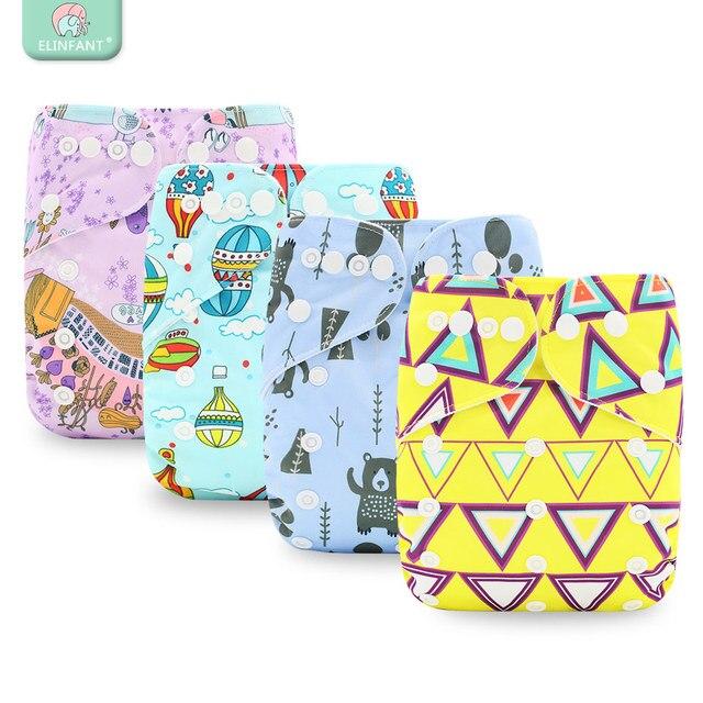U Pick Elinfant2018 najbardziej popularne cyfrowe pieluchy dla niemowląt pieluchy zmywalny zamszowe tkaniny szybkie suche na pieluchy wielokrotnego użytku kieszeń na pieluchy