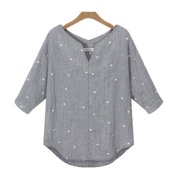 Plus Size Women Casual Blouse 1