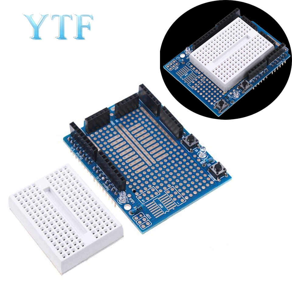 Proto Shield Prototype Expansion Board With SYB-170 Mini Based For ARDUINO UNO