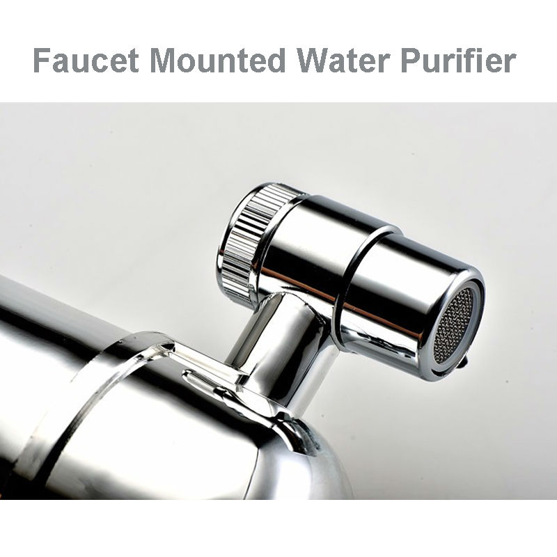 Household Faucet Mounted Alkaline Water Filter Universal Tap Adaptor ...