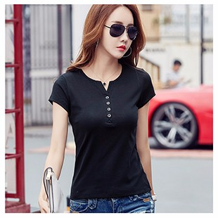 Slim-Sexy-V-Neck-Button-T-Shirt-Women-Tops-2017-Cotton-Casual-T-Shirts-Summer-Kawaii.jpg_640x640