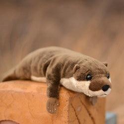 Morbido Otter Bambola Cuscino Peluche Bambole Giocattolo Per Bambini Regali Grande Giocattolo Reale Vita Lontra