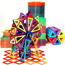 Mini Size Mutil Color 30-228pcs Magnetic Designer Construction Set Model & Building Toy Magnetic Blocks Educational Toys цена в Москве и Питере