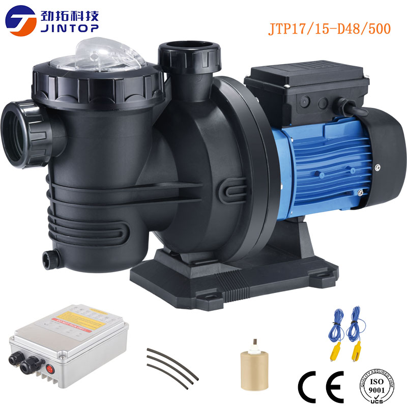US $695.0 |(MODEL JTP17/15 D48/500) JINTOP SOLAR SWIMMING POOL PUMP 2 years  warranty 48V 500w Solar Swimming powered pumps dc pool pump-in Pumps from  ...