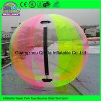 2m Diameter Multicolor inflatable Water walking ball, inflatable human hamster ball, inflatable human balloon