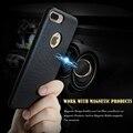 Kisscase para iphone 7 7 plus case bag suporte para carro de adsorção magnética capa para iphone 7 7 plus fundas macio tpu plástico rígido
