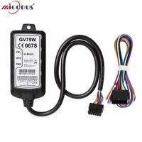 3g gps трекер автомобиля GV75W Queclink предназначена для широкого спектра устройства слежения Водонепроницаемый IP67 1100 мА/ч, несколько интерфейсы в
